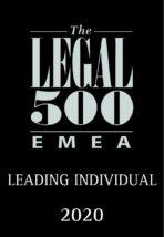 Radu Pavel Romanian Lawyer Leading Individual 2020